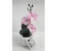 Искусственный цветок Орхидея розовая (20596)