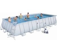 Каркасный бассейн Bestway 7,32м*3,66*1,32м