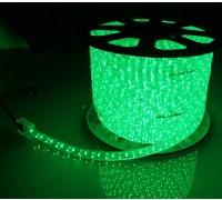 Дюралайт LED круглый зеленый