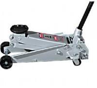 Домкрат гидравлический подкатный, 3 т, h подъема 150–530 мм MATRIX  51040