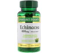 Эхинацея Nature's Bounty, 400 мг, 100 капсул