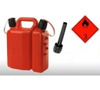 Канистра пластиковая для топлива и масла (3,5+1,5 л) (7010)  DI MARTINO   Италия