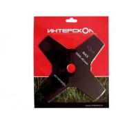 Нож 4-х лезвийный для бензо/электро косы Интерскол 2140923000140