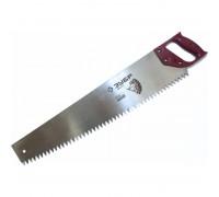 """Ножовка ЗУБР """"МАСТЕР"""" по дереву, прямой крупный зуб, пластиковая ручка, шаг зуба 12мм, 615мм"""