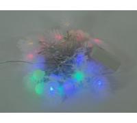 Гирлянда Космос Gir 30 LED RGB Boll 2 (шишки) 4,4м