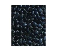 Галька черная полированная (крупная фракция 40-60мм) 20 кг - HNB-04