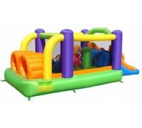 Детский надувной Игровой центр Полоса препятствий HAPPY HOP 9063