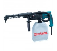 Перфоратор SDS-plus Makita HR2432, 220В, 780Вт, бетон 20мм, сталь 13мм, дерево 32мм, 0-1000 об/мин, 0-4500 уд/мин, пылесборник, чемодан, 3.2 кг