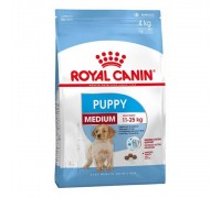 Сухой корм Royal Canin Medium Puppy 4kg