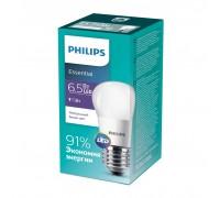 Лампа Philips ESS LEDLuster 6.5-75W E27 840 P45ND (929001887107)