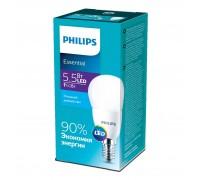 Лампа Philips ESS LEDLustre 5.5-60W E14 865 P45ND (929001960307)