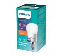 Лампа Philips ESS LEDLustre 6.5-75W E14 827 P45ND (929001886807)