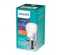 Лампа Philips ESS LEDLustre 6.5-75W E27 827 P45ND (929001887007)