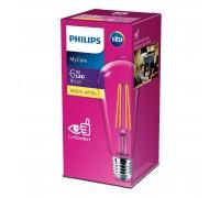 Лампа Philips LEDClassic 6-60W ST64 E27 830 CLND (929001975008)