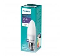 Лампа Philips ESS LEDCandle 6.5-75W E27 840 B35ND (929001887207)
