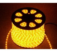 Дюралайт LED 220/12-5050-60 Yellow (50м) 2700
