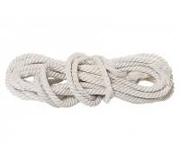 Веревка хб, D 18 мм, L 11 м, крученая, 567 кгс СИБРТЕХ 94005