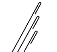 Анкер металлический строительный неокрашенныйø 6 ммКМС-6/500