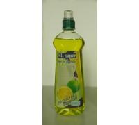 """Средство  моющее   """"SUPER """"   0,5 л.    Зелёный  лимон"""