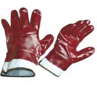 Перчатки садовые из полиэстера с нитриловым обливом M  PALISAD 67746