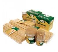 Шампур деревянный  (березовый) 0,3х30см по 100шт, Komfi  2720