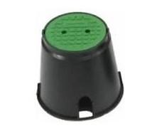 Клапанный короб круглый с крышкой: ШВ х ШН х В = 25,4х26х33,5 см Rain Bird VBA02673