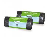Пакет мусорный ПНД 50см x 60см повышенной прочности в рулоне 30л Komfi/30штх50упак 3688