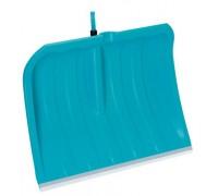 Лопата для уборки снега 50 см с кромкой изнержавеющей стали Gardena 03243-20