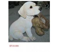 Садовая фигурка Лабрадор с ботинком BJ101088  GS