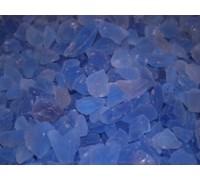 Галька нефритовая NS013 (темно-синяя), 3-5 см,  1 кг.