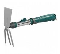 Мотыжка садовая RACO, прямое лезвие / 3 зубца, коннекторная система, 32,5см
