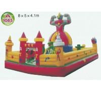 Батут коммерческий A 1085 8x5x4,1м (цена за 1 кв.м.)
