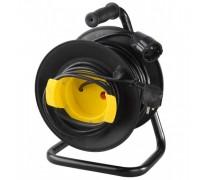 Удлинитель СВЕТОЗАР электрический с заземлением на катушке, евро, 1 гнезда, 40м