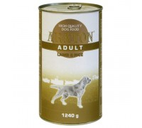 ARATON wet food for dogs 1240g with lamb and rice