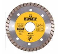 DeWalt, DT3702, Алмазный отрезной круг со сплошной кромкой Turbo универсальный для сухого резания дл