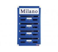 32051011  Почтовый ящик  MILAN металлический  серебристый  BG.410.03 Arthis GmbH