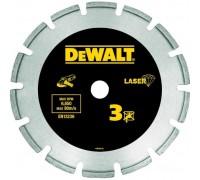 DeWalt, DT3761, Алмазный отрезной круг с лазерной сваркой сегментов по мрамору и граниту для сухого