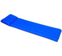 Матрас надувной Bestway Camping Mattress (размер 193*74см, цвет синий+красный, вес 1.35кг.) 67014В
