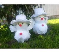 Снеговик 14см. ТA10453F