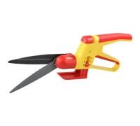 Ножницы GRINDA для стрижки травы,2-х комп пластмас ручки с защитой,поворот мех-м 180гр, 3-позиц регулировка высоты,360мм