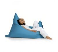 Подушка детская голубая