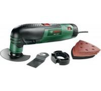Многофункциональный инструмент Bosch  PMF 190 E Toolbox + набор оснастки 16 шт 0603100502