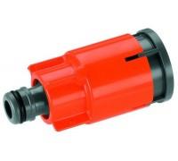 Коннектор для шланга со стоп-клапаном для  водозаборной колонки арт. 2797 Gardena 05797-20.000.00