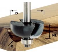 Фреза для выбор. желобка HW с хв. 8 мм HW S8 D25,5/R6,35 KL
