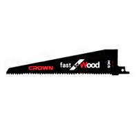 Пилки для сабельной пилы  231X210X45X1.2X4.23mm Crown CTSSP0005