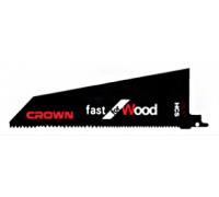 Пилки для сабельной пилы  231X210X68X0.9X2mm Crown CTSSP0006