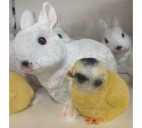 Садовая фигурка Кролик с цыпленком MG2760400