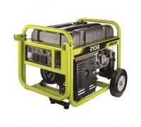 Генератор 270 см3 OHV, 3800 Вт,  бак 25 л, розетки пост/пер. 2/1. ресурс работы 18/10 ч. доп. колеса RGN3800