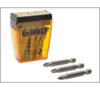 DeWalt, DP73, Насадки для шурупов со шлицем Pozidriv, Pz2 x 50 мм, 20 шт.  (20х), картонный мерченда