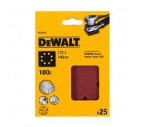 DeWalt, DT3014, Шлифлисты для виброшлифмашин на бумажной основе, перфорированные, дерево/ краска, 11